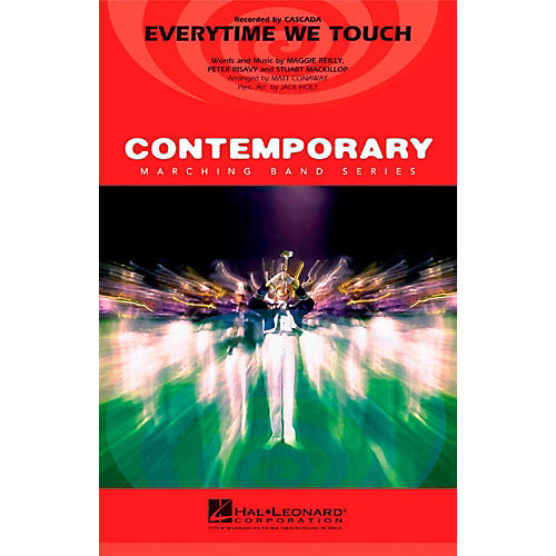 Hal Leonard Everytime We Touch - Pep Band/Marching Band Level 3 thumbnail