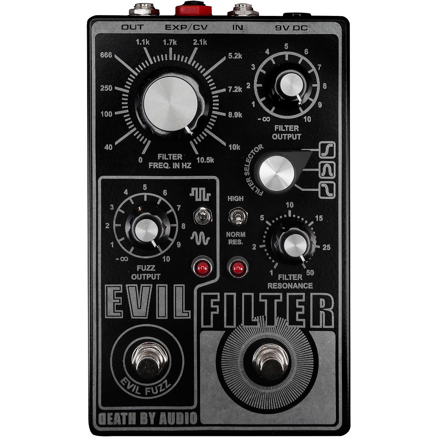 Death By Audio Evil Filter Hyper Resonant Multi Mode Filter/Fuzz Pedal thumbnail