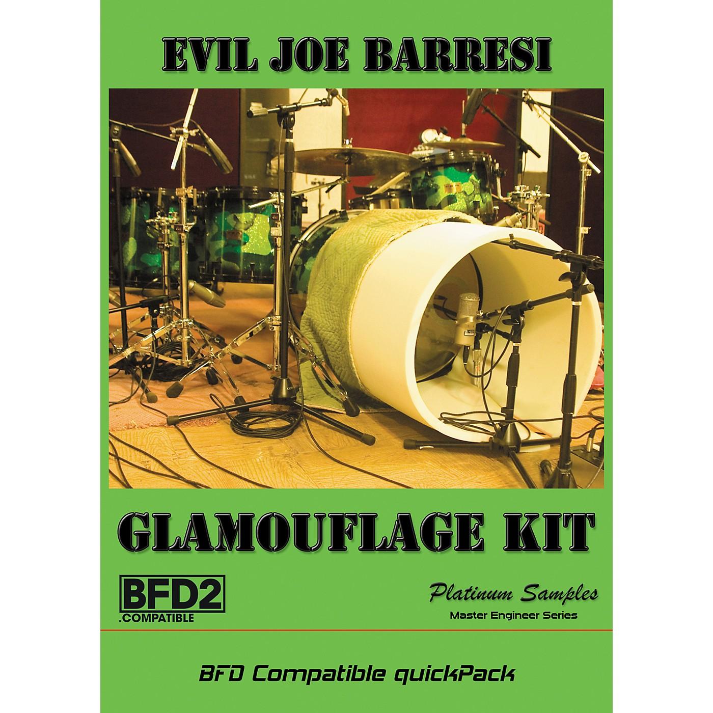 Platinum Samples Evil Joe Barresi Glamouflage Kit QuickPack for BFD thumbnail