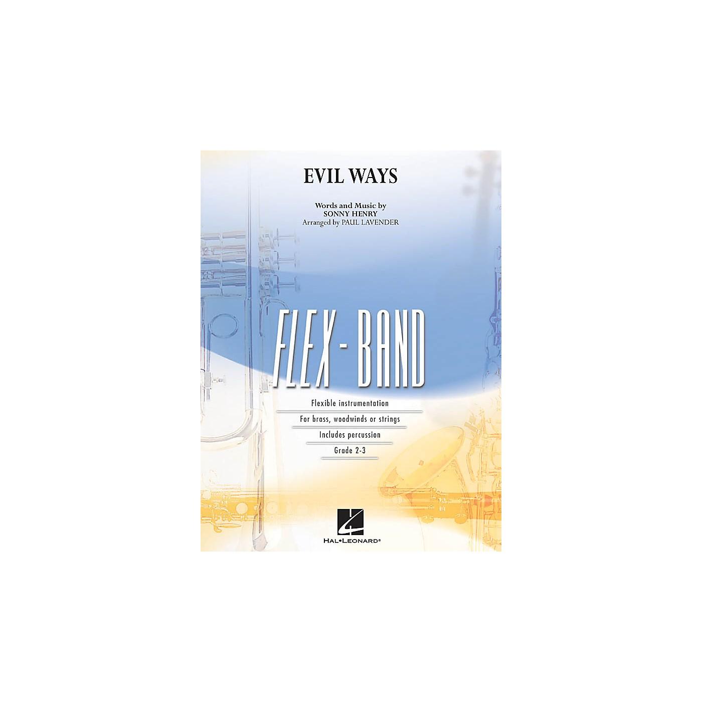 Hal Leonard Evil Ways Concert Band Level 2-3 Arranged by Paul Lavender thumbnail