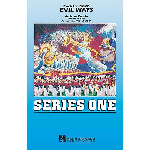 MCA Evil Ways Marching Band Level 2 by Santana Arranged by Paul Murtha thumbnail