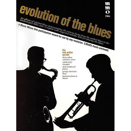 Music Minus One Evolution of the Blues Music Minus One Series Softcover with CD thumbnail