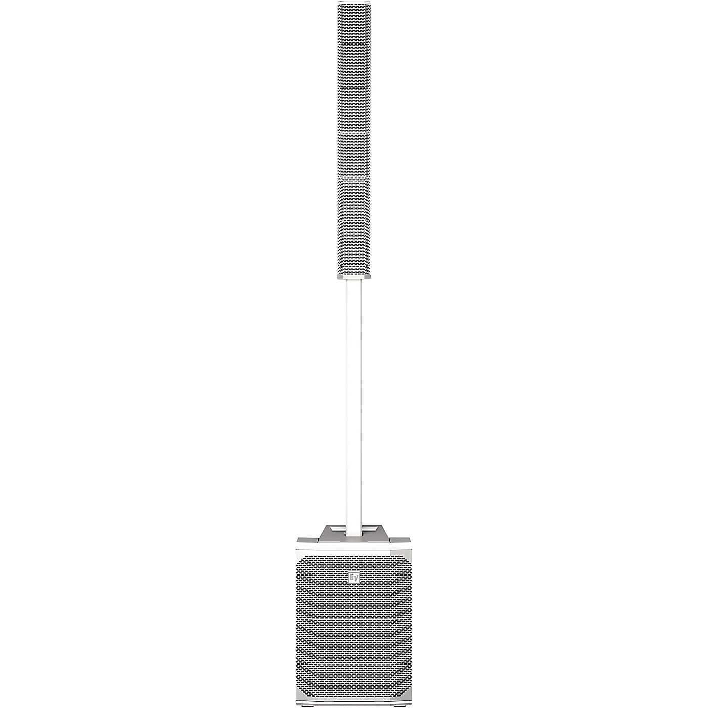 Electro-Voice Evolve 50 Portable Active Line Array PA System, White thumbnail