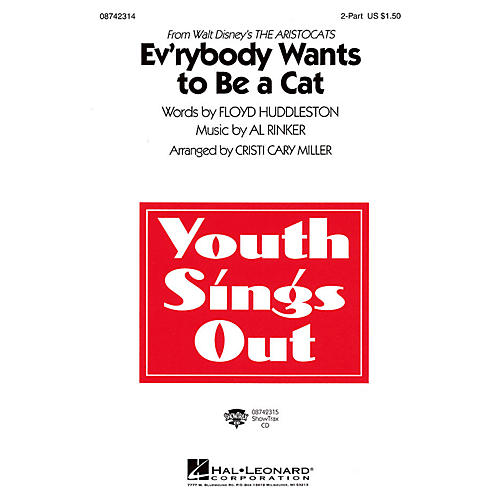 Hal Leonard Ev'rybody Wants to Be a Cat (from The Artistocats) 2-Part arranged by Cristi Cary Miller thumbnail
