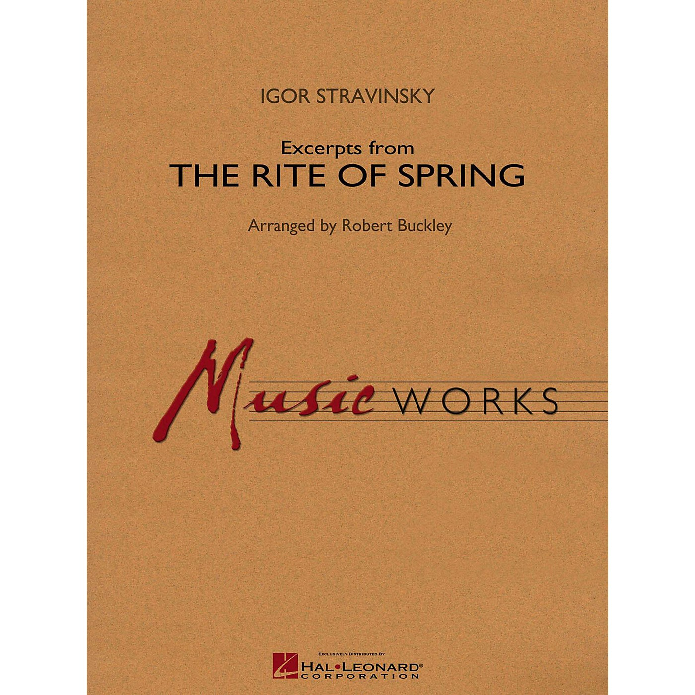 Hal Leonard Excerpts From The Rite Of Spring Concert Band Level 4 thumbnail