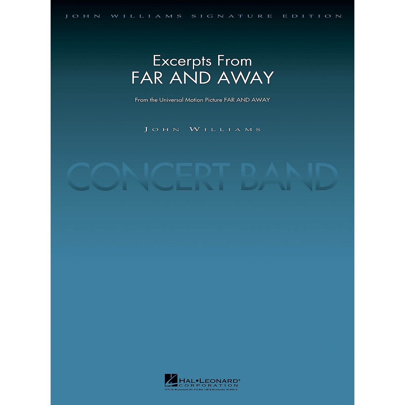 Hal Leonard Excerpts from Far and Away (Score and Parts) Concert Band Level 5 Arranged by Paul Lavender thumbnail