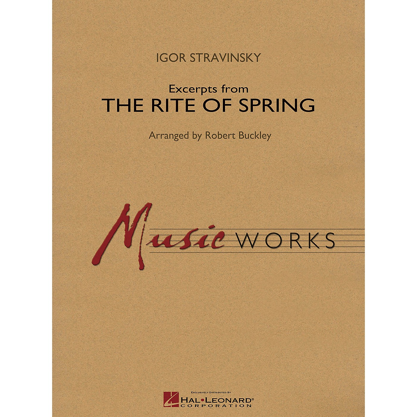 Hal Leonard Excerpts from The Rite of Spring Concert Band Level 4 Arranged by Robert Buckley thumbnail