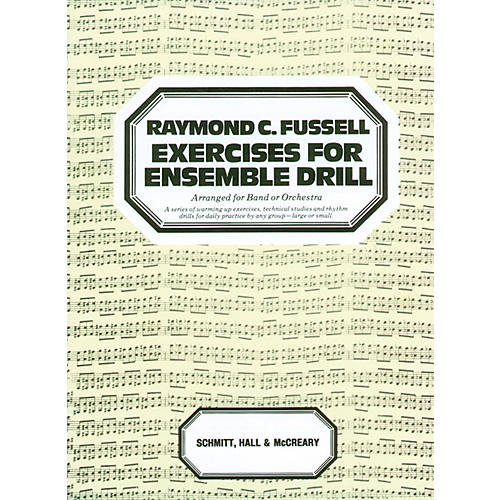 Alfred Exercises for Ensemble Drill Main Book thumbnail