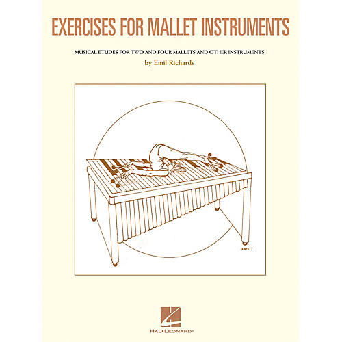 Hal Leonard Exercises for Mallet Instruments Percussion Series Softcover Written by Emil Richards thumbnail