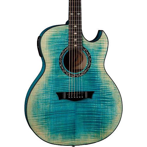 Dean Exhibition Flame Maple Acoustic-Electric Guitar thumbnail