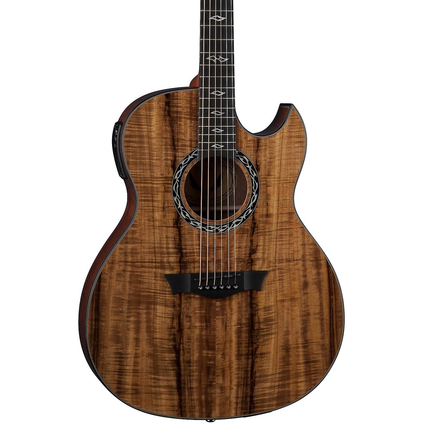Dean Exhibition Koa Acoustic-Electric Guitar thumbnail