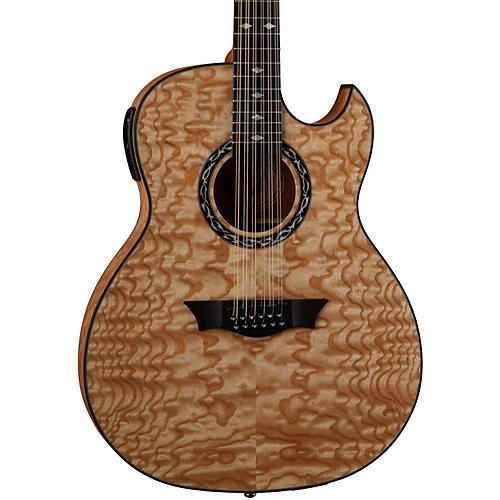 Dean Exhibition Quilt Ash 12-String Acoustic-Electric Guitar thumbnail