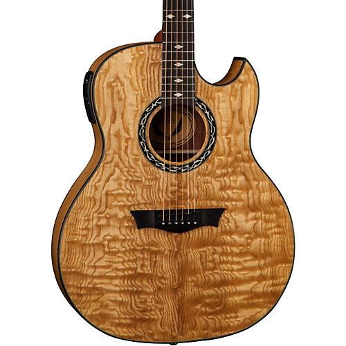 Dean Exhibition Quilt Ash Acoustic-Electric Guitar with Aphex thumbnail