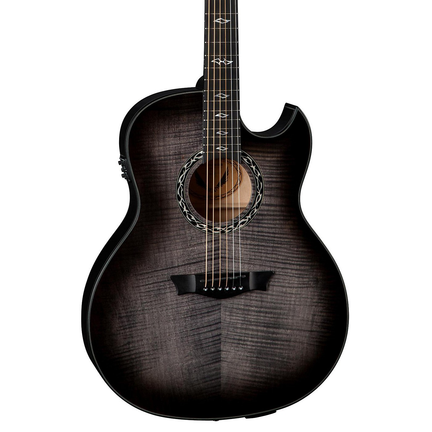 Dean Exhibition Ultra Flame Maple with USB Acoustic-Electric Guitar thumbnail