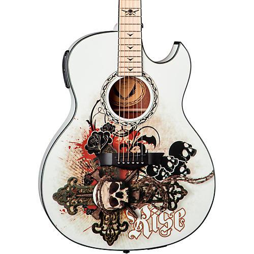 Dean Exhibition thin Body Acoustic-Electric Guitar w/Aphex thumbnail