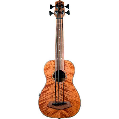 Kala Exotic Mahogany Fretless Acoustic-Electric U-BASS thumbnail