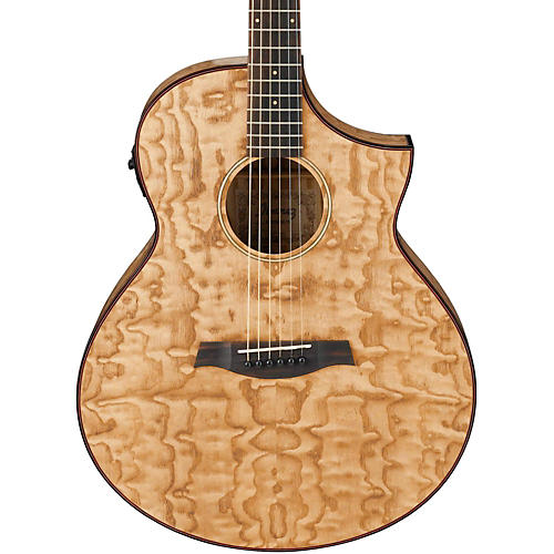 Ibanez Exotic Wood AEW40AS-NT Acoustic-Electric Guitar-thumbnail