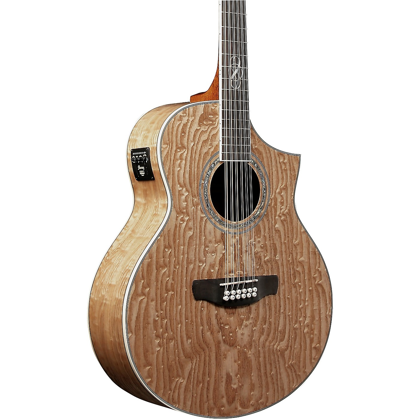 Ibanez Exotic Wood Series EW2012ASENT 12-String Acoustic-Electric Guitar thumbnail