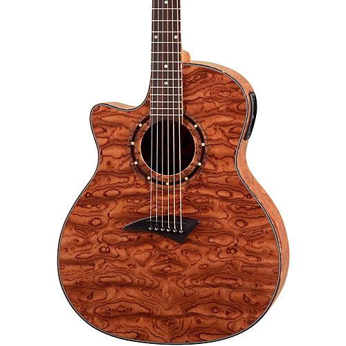 Dean Exotica Left-Handed Bubinga Acoustic-Electric Guitar w/Aphex thumbnail