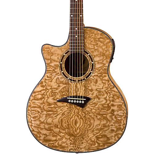 Dean Exotica Quilted Ash Left-Handed Acoustic-Electric Guitar thumbnail