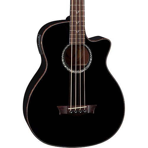 Dean Exotica Supreme Acoustic-Electric Bass with Aphex thumbnail