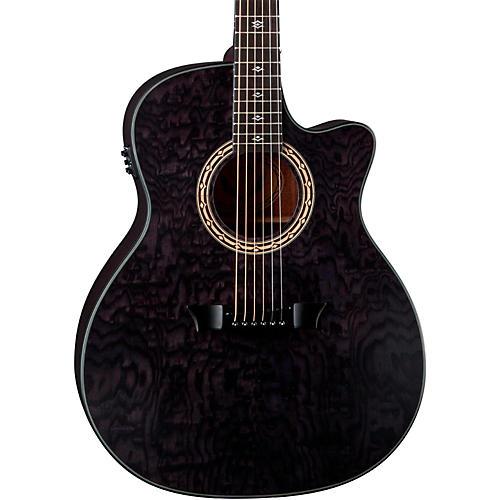 Dean Exotica Ultra Quilt Ash Acoustic-Electric Guitar thumbnail