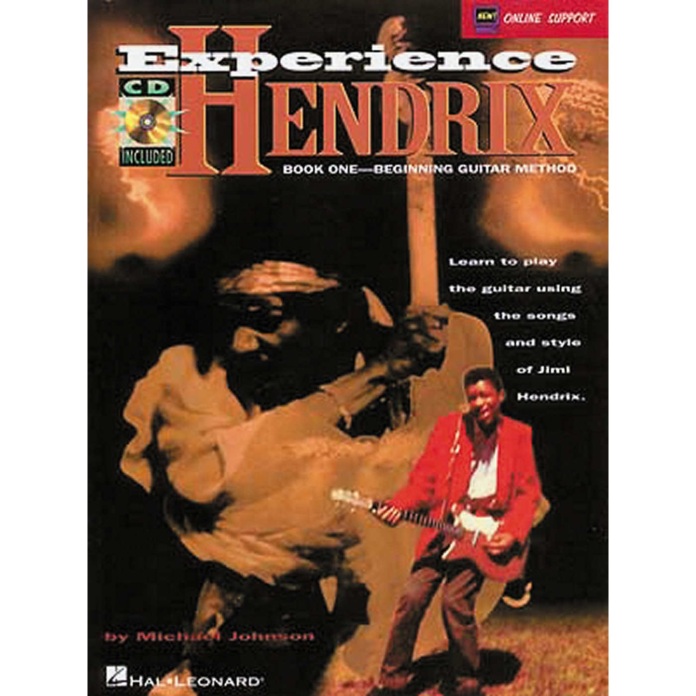 Hal Leonard Experience Hendrix - Book One Book/CD thumbnail