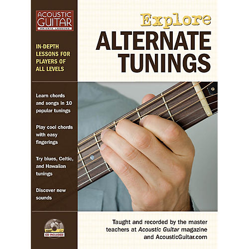 String Letter Publishing Explore Alternate Tunings String Letter Publishing Series Softcover with CD Written by Various thumbnail