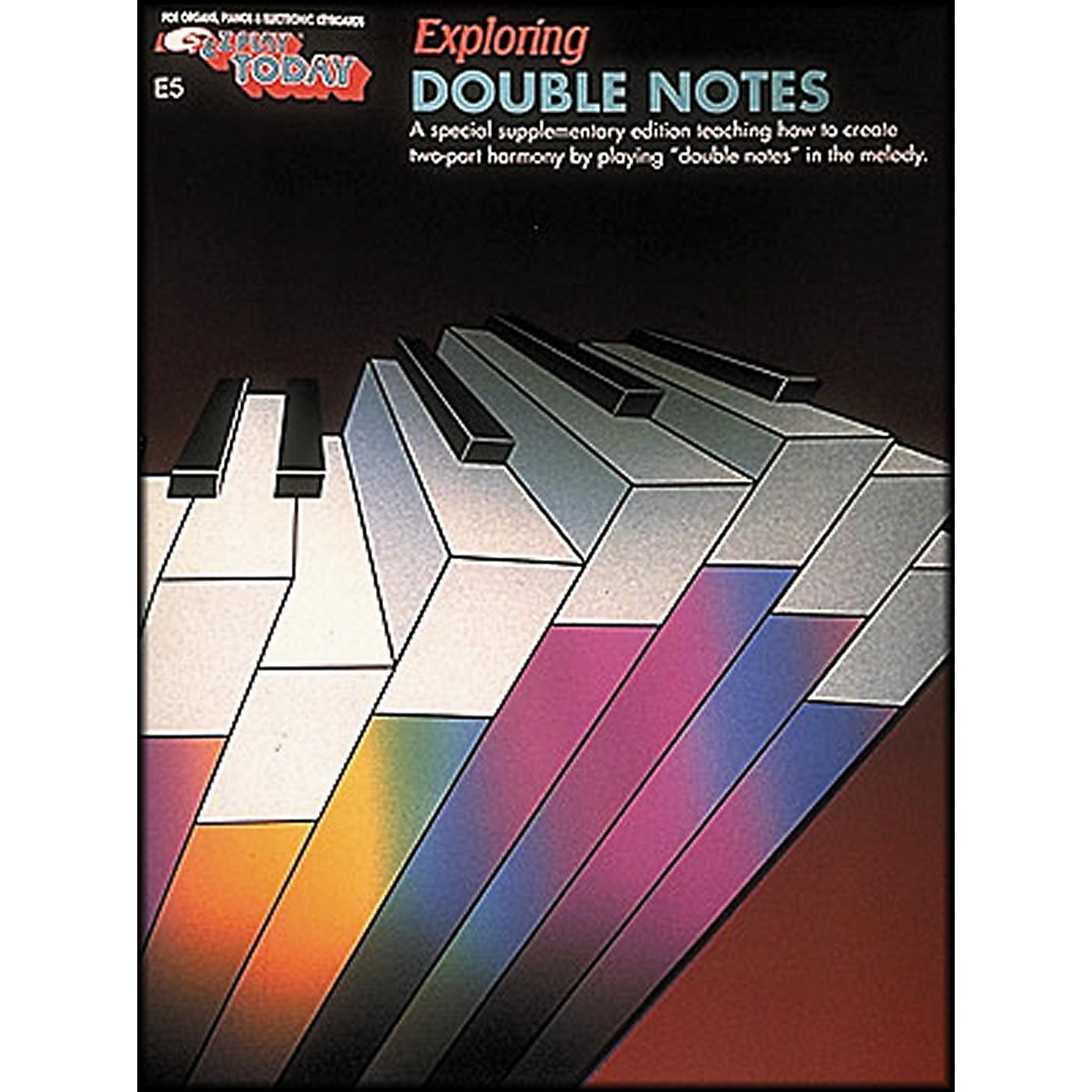 Hal Leonard Exploring Double Notes E-Z Play E5 thumbnail