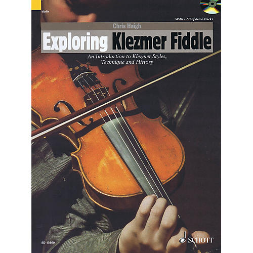 Schott Exploring Klezmer Fiddle String Series Softcover with CD thumbnail