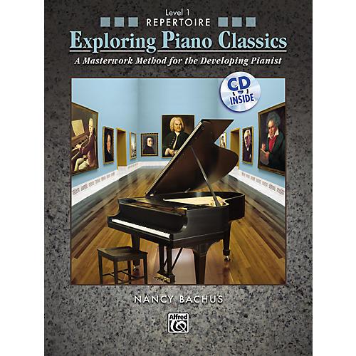 Alfred Exploring Piano Classics Repertoire Level 1 thumbnail