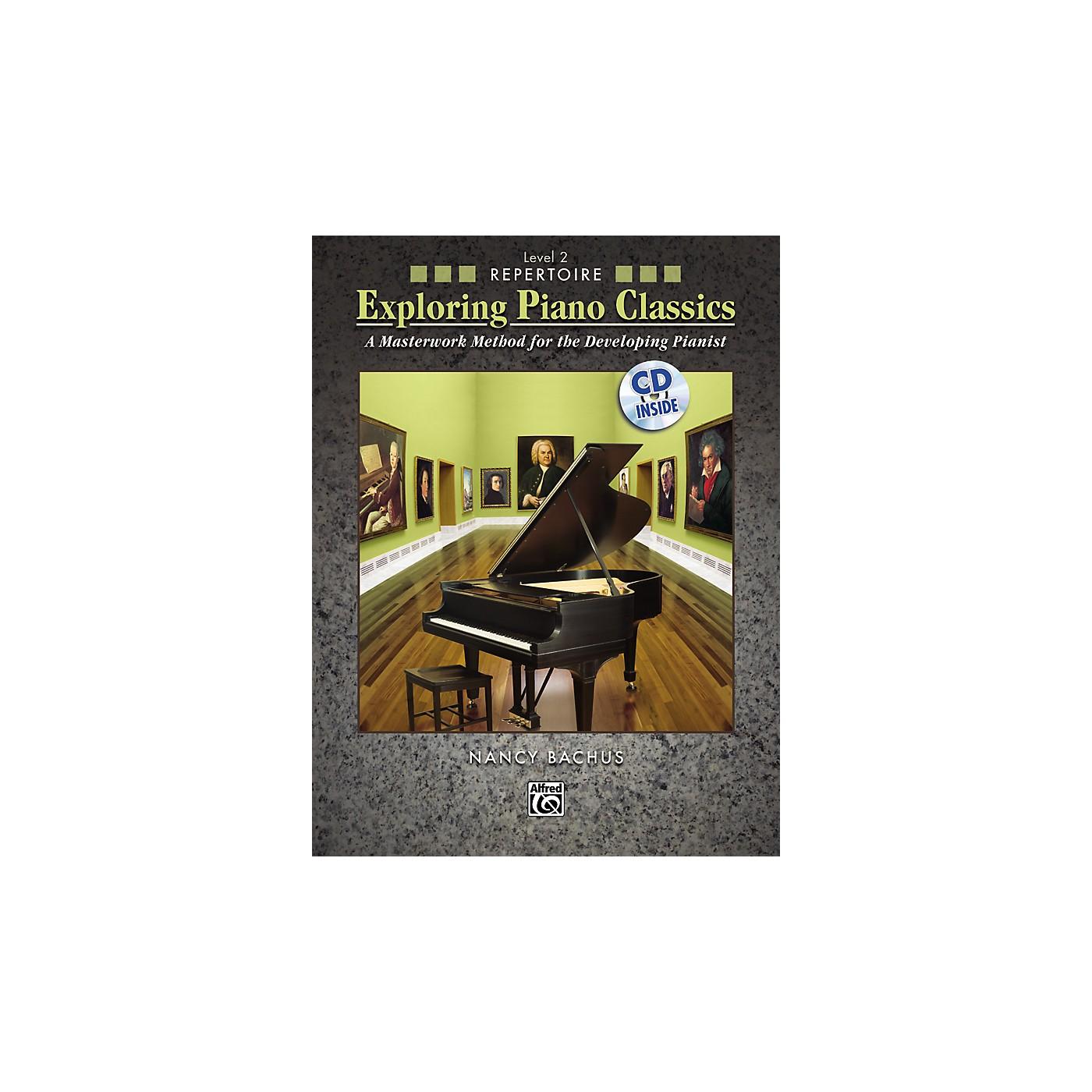 Alfred Exploring Piano Classics Repertoire Level 2 thumbnail