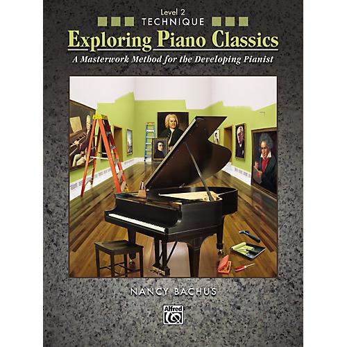 Alfred Exploring Piano Classics Technique Level 2 thumbnail