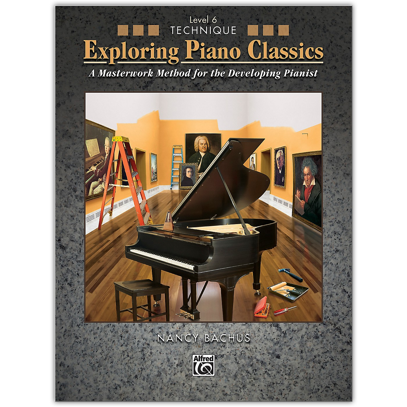 Alfred Exploring Piano Classics Technique, Level 6 Late Intermediate thumbnail