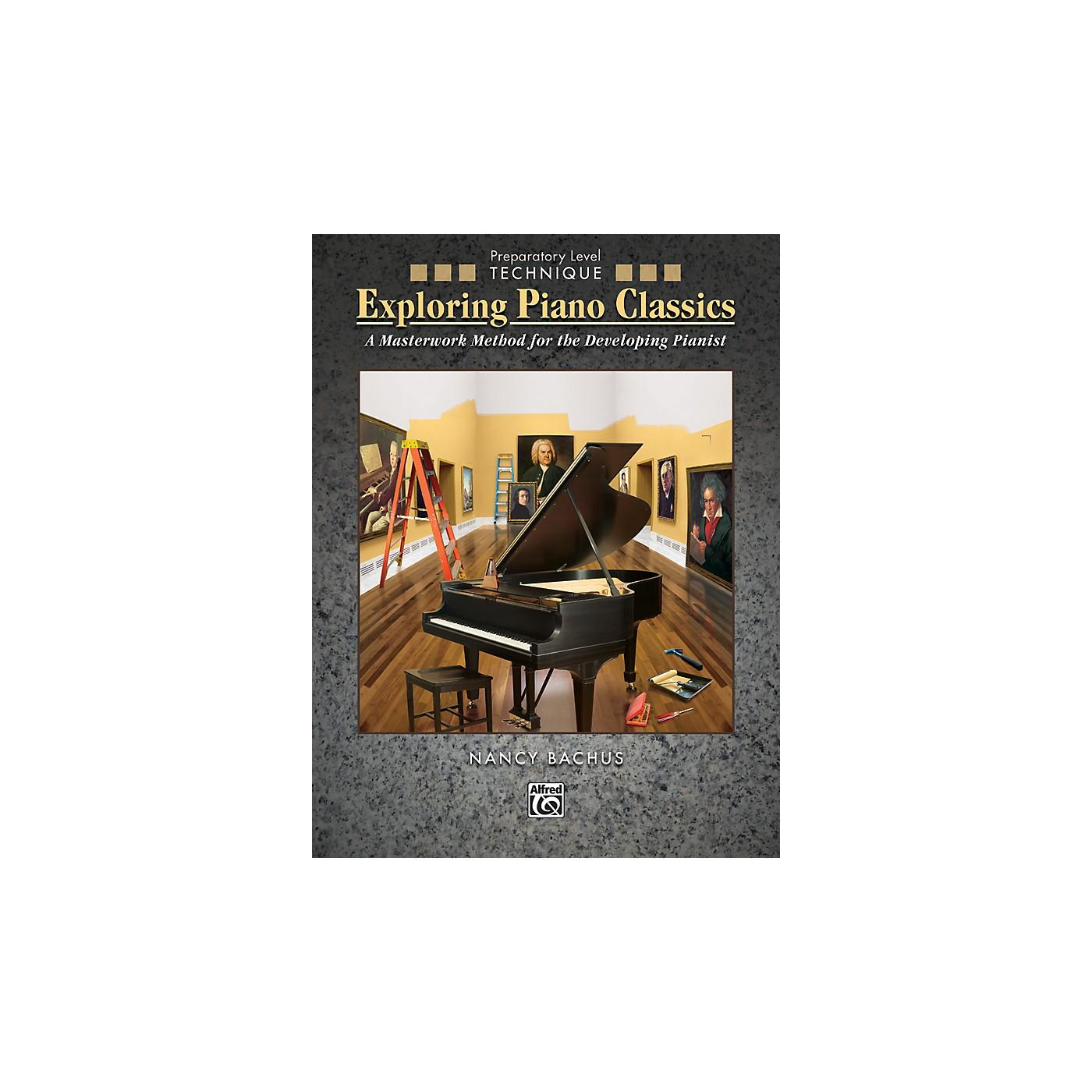 Alfred Exploring Piano Classics Technique Preparatory Level Preparatory Book thumbnail