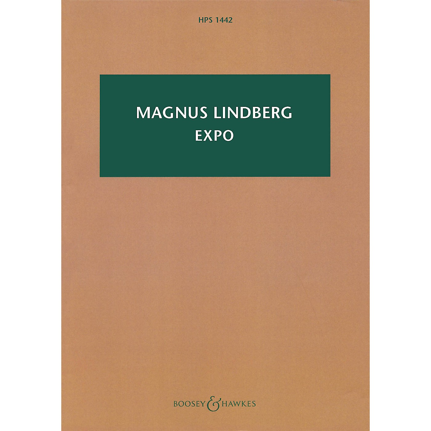 Boosey and Hawkes Expo (Orchestra) Boosey & Hawkes Scores/Books Series Softcover Composed by Magnus Lindberg thumbnail