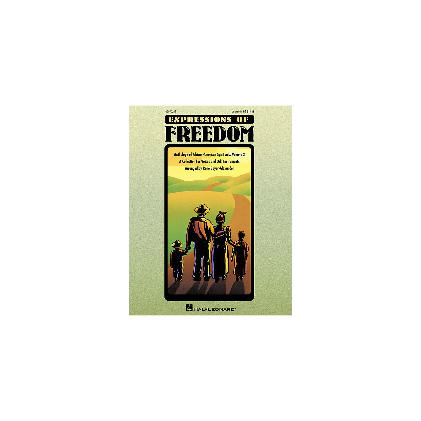 Hal Leonard Expressions Of Freedom Volume 2 (Anthlogy of African American Spirituals) by Rene Boyer-Alexander (Orff) thumbnail