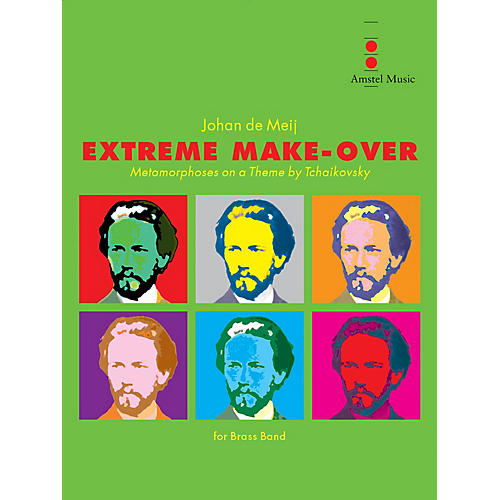 Amstel Music Extreme Make-Over Concert Band Level 4-5 Composed by Johan de Meij thumbnail