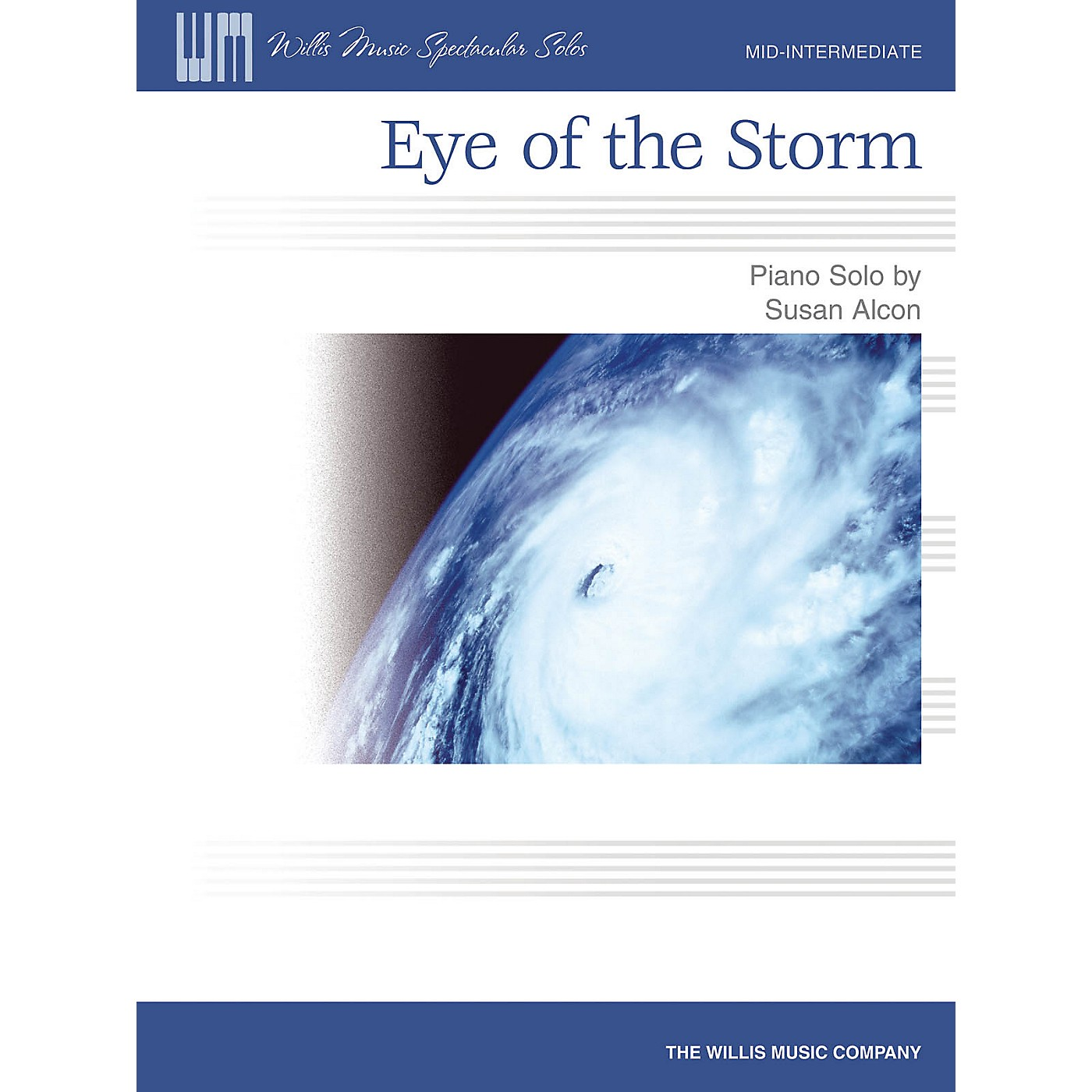 Willis Music Eye of the Storm (Mid-Inter Level) Willis Series by Susan Alcon thumbnail