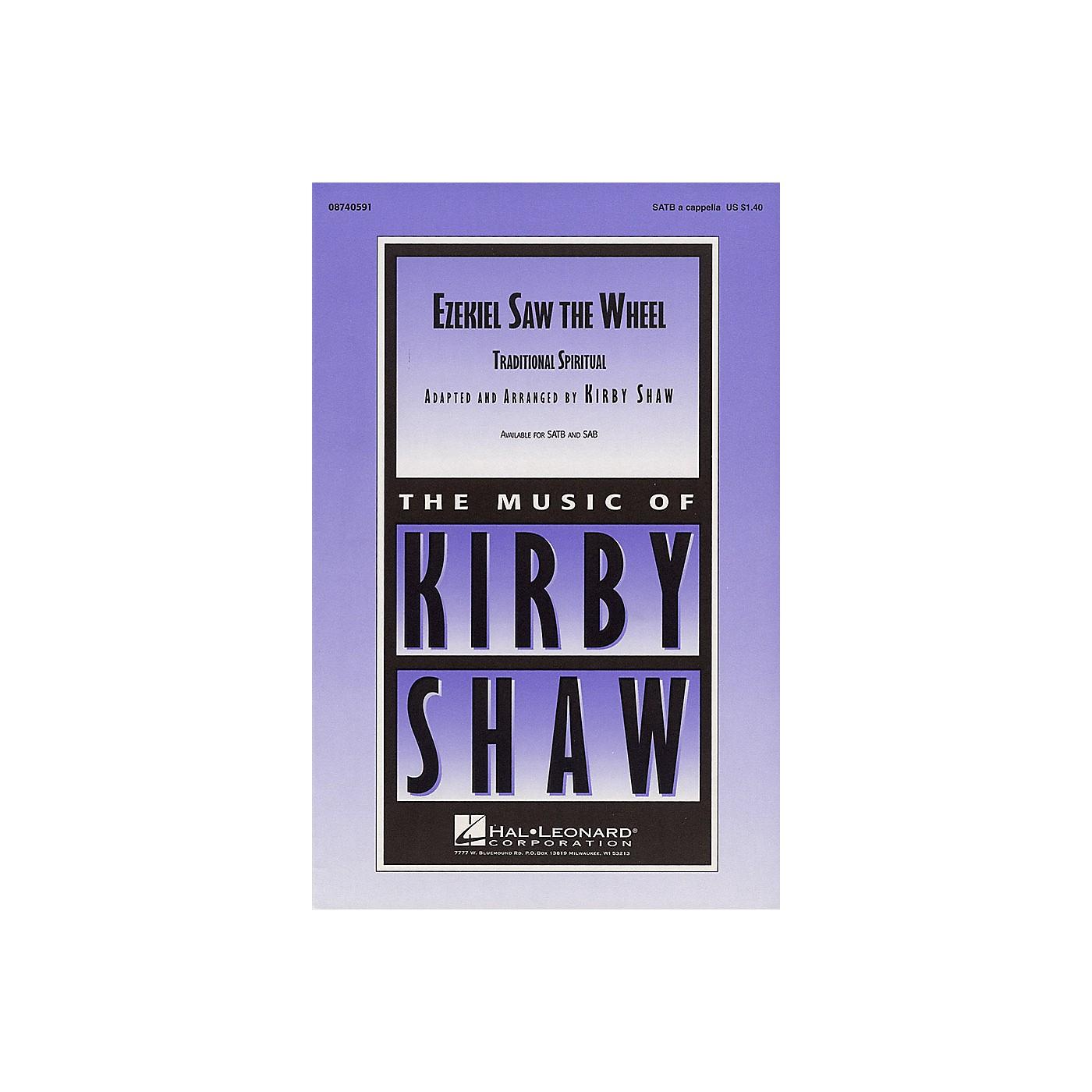 Hal Leonard Ezekiel Saw the Wheel SAB A Cappella Arranged by Kirby Shaw thumbnail
