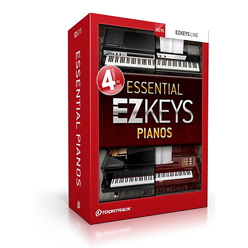Toontrack Ezkeys Essential Pianos Software Download thumbnail