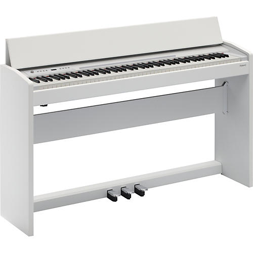 Roland F-120 SuperNATURAL Piano (White)-thumbnail