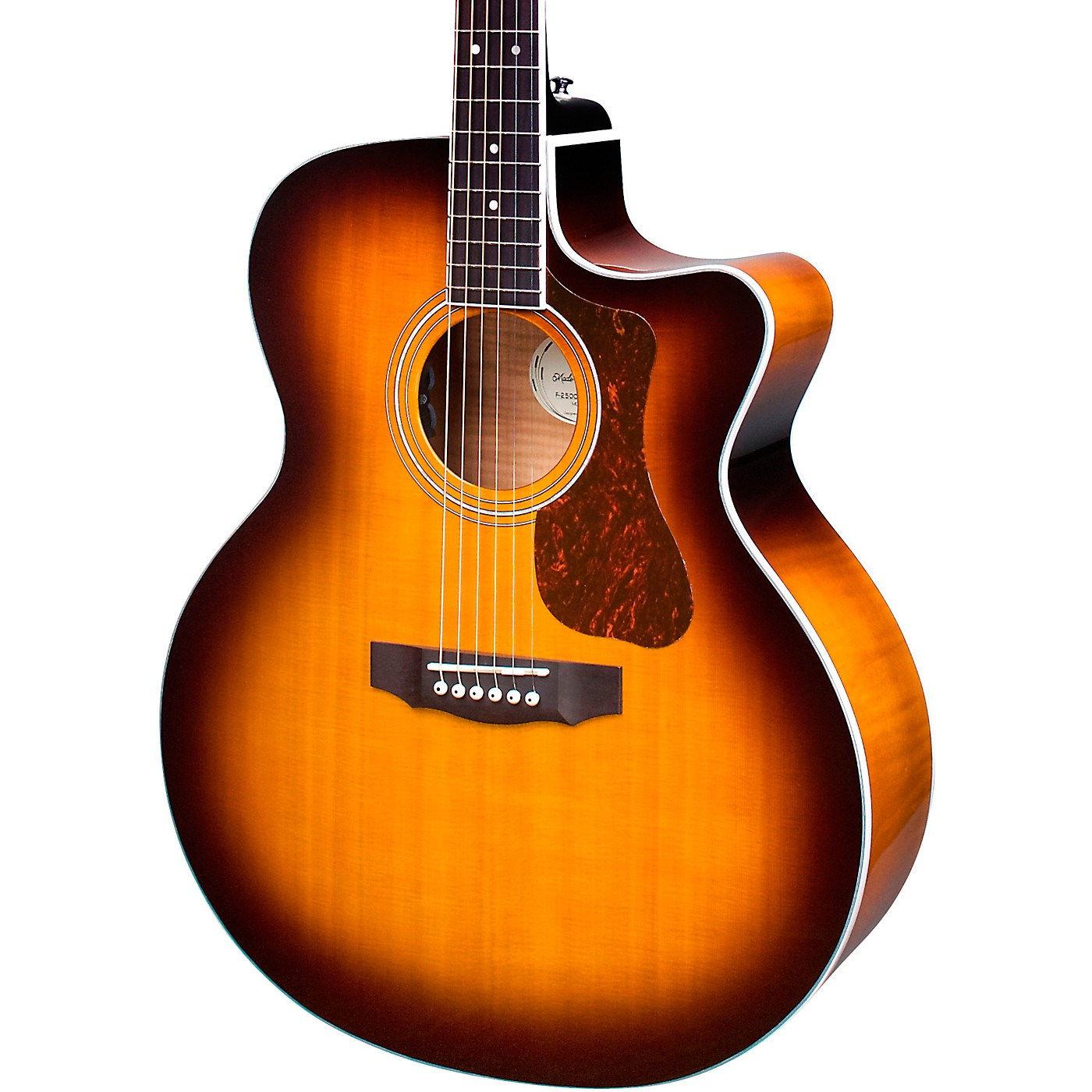 Guild F-250CE Deluxe Dreadnought Acoustic-Electric Guitar thumbnail
