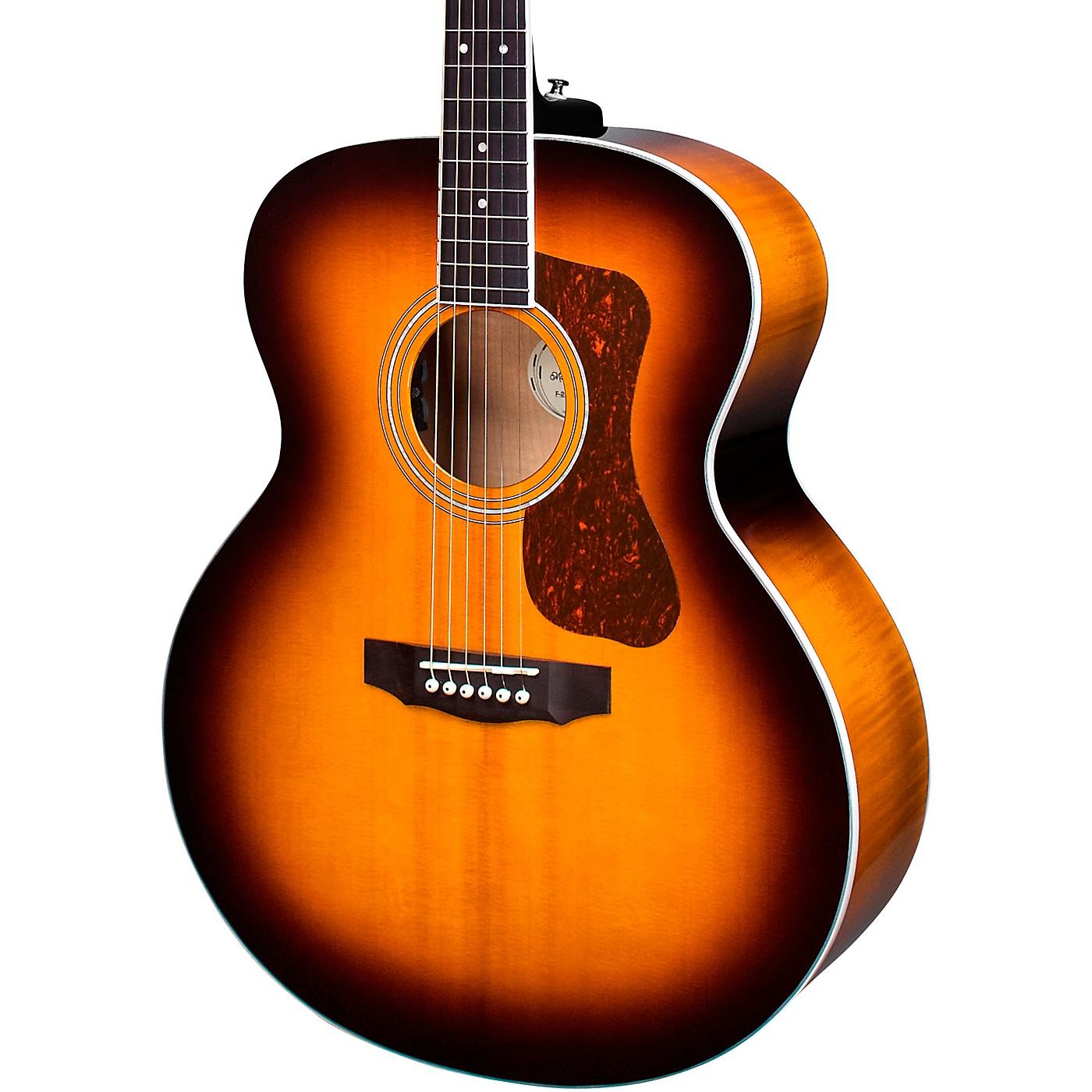 Guild F-250E Deluxe Jumbo Acoustic-Electric Guitar thumbnail