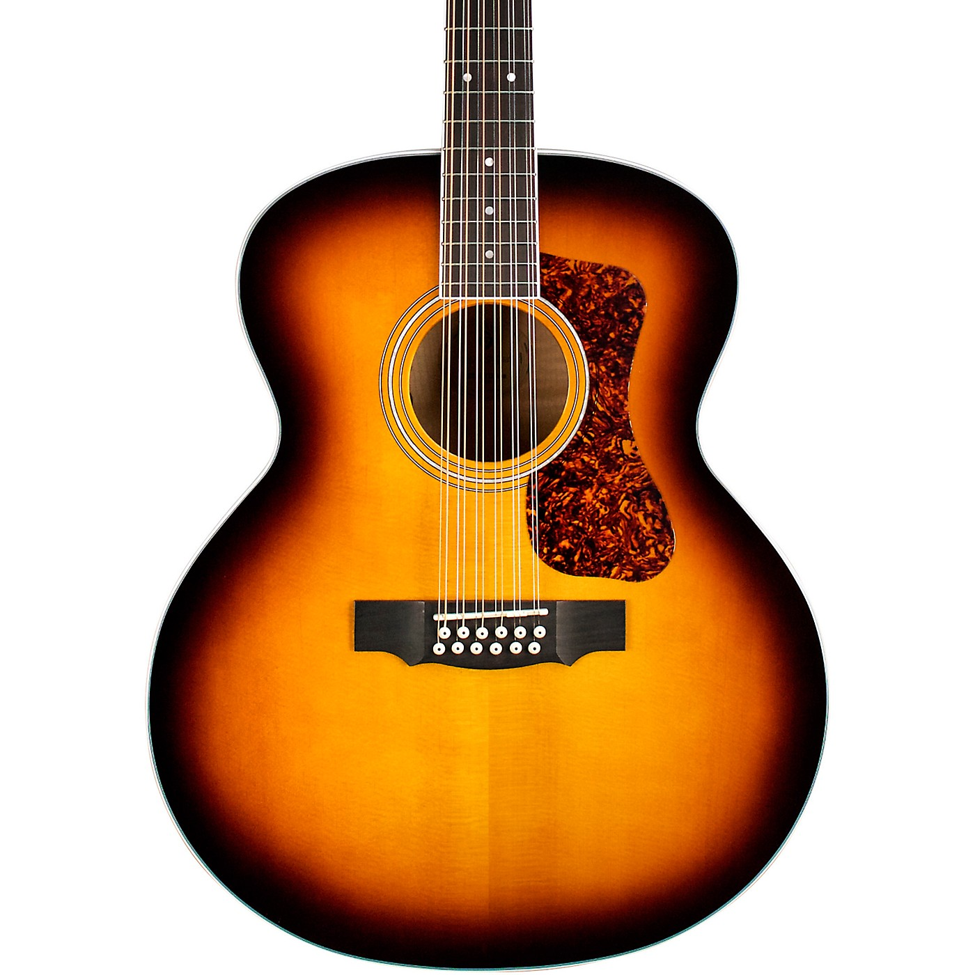 Guild F-2512E Deluxe Westerly Collection 12-String Jumbo Acoustic-Electric Guitar thumbnail