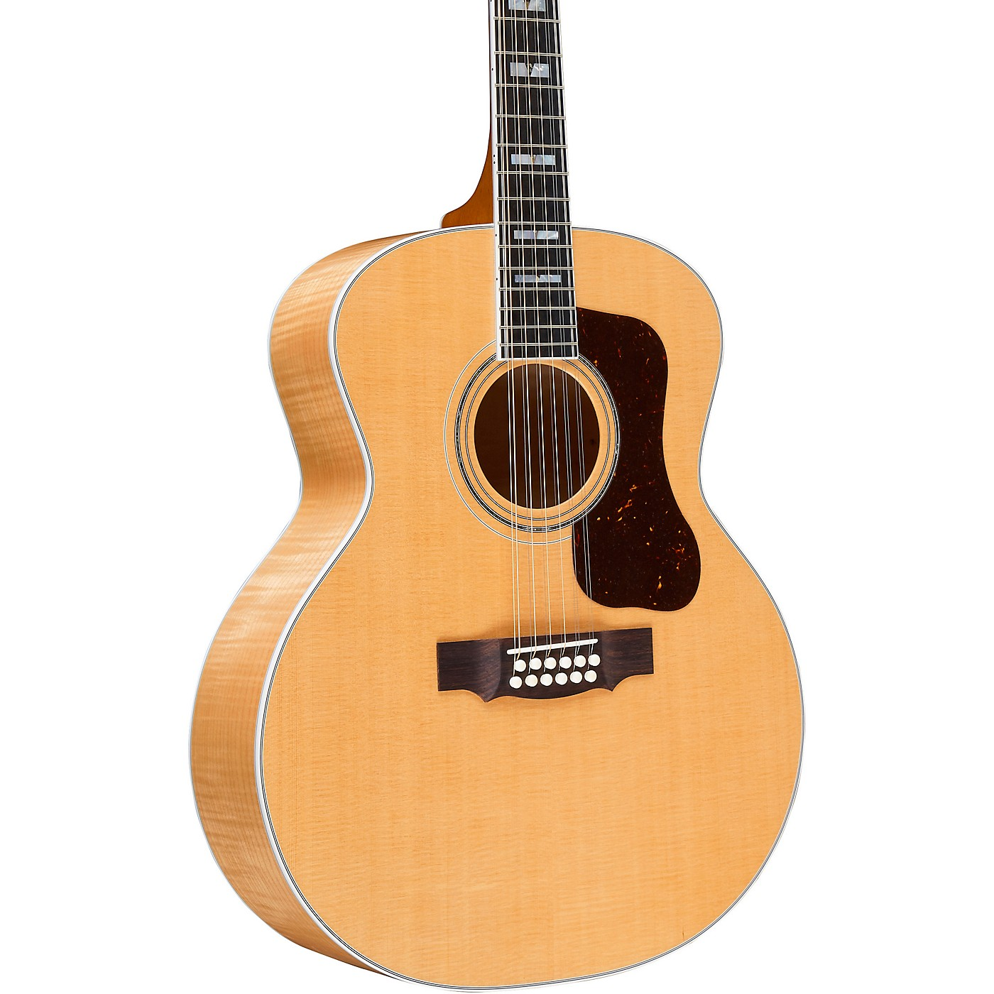 Guild F-512 Maple Jumbo 12-String Acoustic Guitar thumbnail