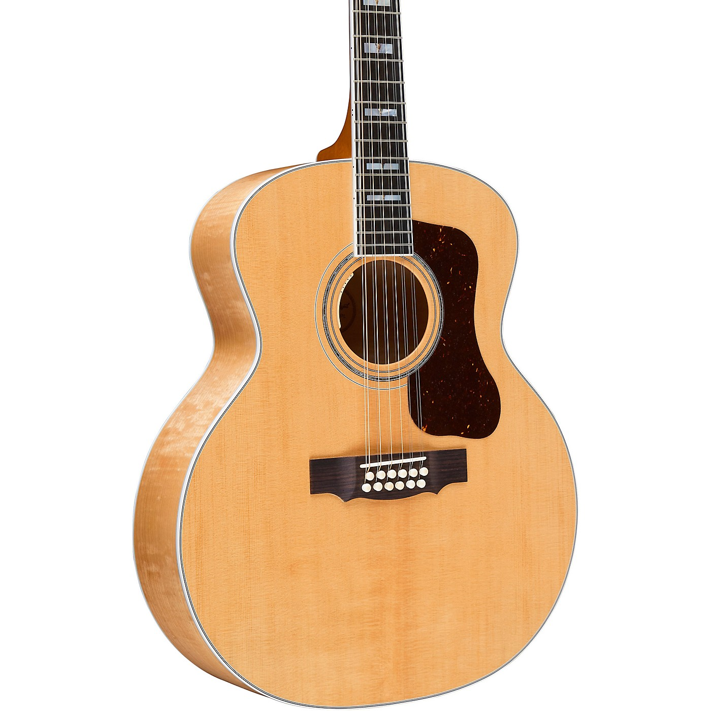 Guild F-512E Maple Jumbo 12-String Acoustic-Electric Guitar thumbnail