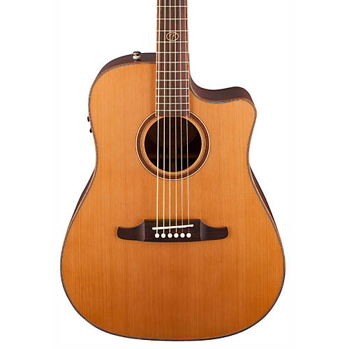 Fender F1020SCE Cutaway Dreadnought Acoustic-Electric Guitar thumbnail