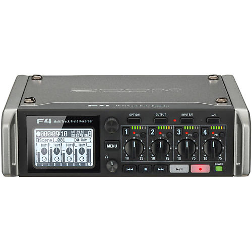 Zoom F4 MultiTrack Field Recorder thumbnail