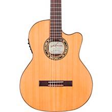 Kremona F65CW TL Thin Bodied Nylon-String Acoustic-Electric Guitar